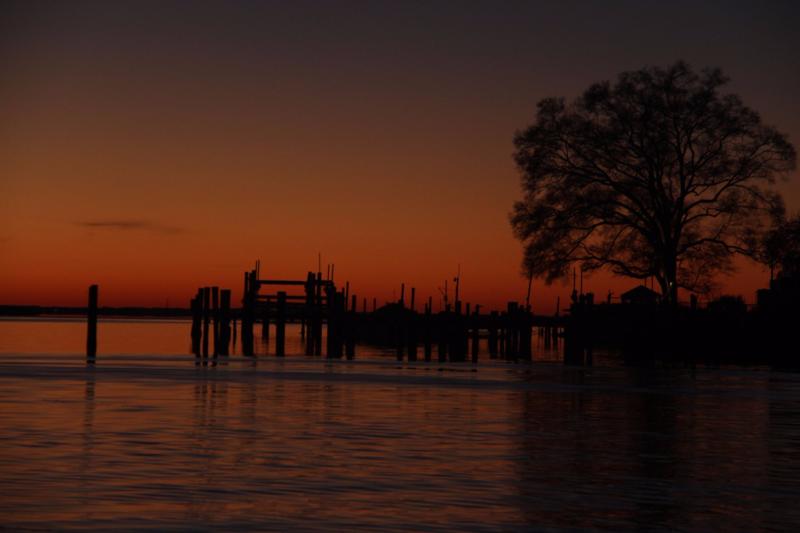 Seneca Creek sunrise