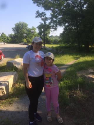 Karina Murcia and her mother Dania Hernandez